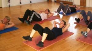Bauch Beine Po, Kräftigung, Muskelaubau