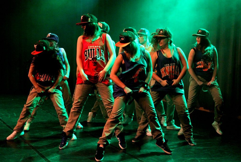 Videoclipdancing HipHop in Bad Orb