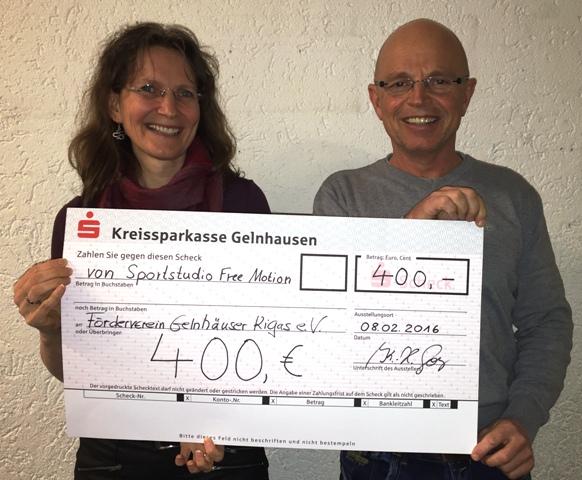 Free Motion spendet an Förderverein Gelnhäuser Kindergärten