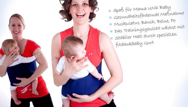 fitdankbaby® für Mamas mit Babys Kursstart 25.5.16